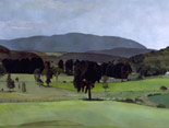 Mountain, View of Southern Berkshires